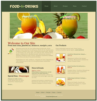 Premium free dreamweaver templates downloads for Templates for dreamweaver cs6